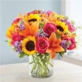 Floral Embrace Summer Flowers
