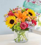 Floral Embrace™ Thank You Arrangement