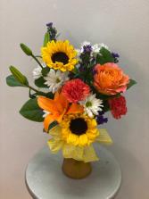 Floral Embrace Vase