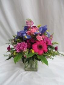 Floral Fancy Fresh Vased Arrangement