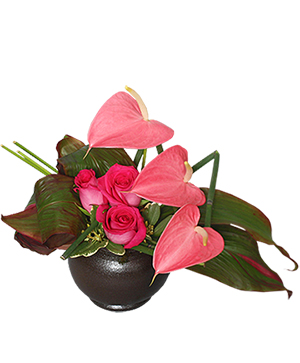 Floral Fine Art Arrangement in Solana Beach, CA | DEL MAR FLOWER CO