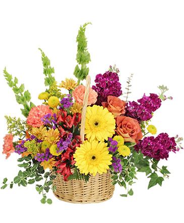 Floral Flavor Basket