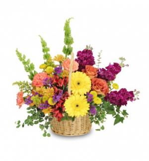 Floral Flavor Basket in Milton, FL | PURPLE TULIP FLORIST INC.