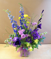 Floral Fling  Fresh Flowers  in a Vase