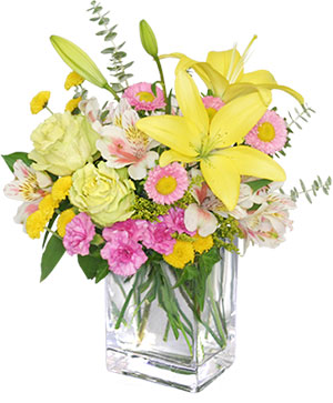 Floral Freshness Spring Flowers in Trenton, MI | A TOUCH OF GLASS FLOWERS & GIFTS