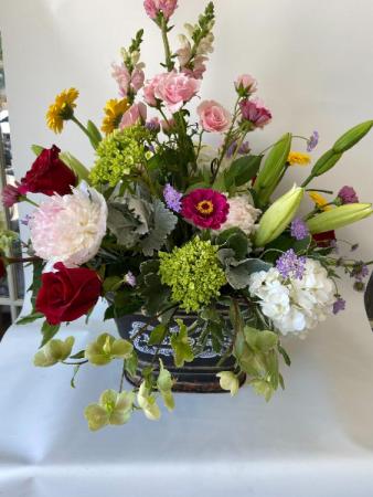 Floral Garden Cuts Custom, Premium, Luxury
