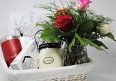 Floral Gift Basket Floral Basket