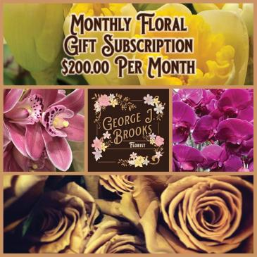 FLORAL GIFT SUBSCRIPTION 200