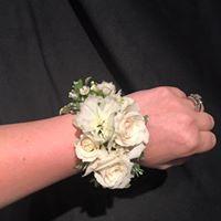 Floral Jewelry Wristlet Cuff Bracelet
