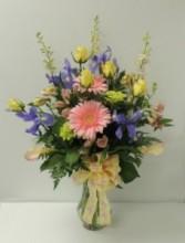 Floral Jubilee Vase