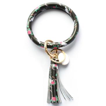 Floral Key Ring