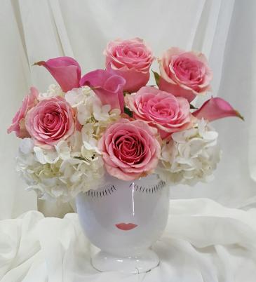 Floral Lash Lady Fresh Floral Design