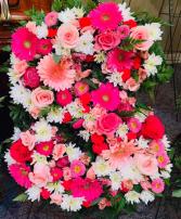 Floral Letters Floral Arrangement