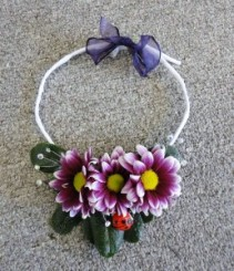 Floral Necklace Prom