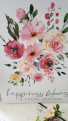 Floral Print Gift Home Decor