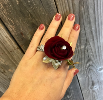 Floral Ring Bling