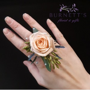 Floral Ring Flowers to wear in Kelowna, BC | Burnett's Florist