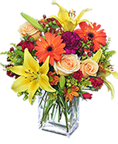 Floral Spectacular Flower Vase in Gloversville, New York | PECK'S FLOWERS