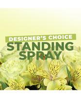 Floral Standing Spray Designer's Choice
