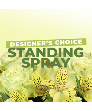 Floral Standing Spray Designer's Choice in Hobbs, NM | 1st Flowers & Gifts