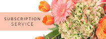Floral Subscription weekly, bi-weekly or monthly flowers