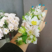 Floral Tattoo Corsage