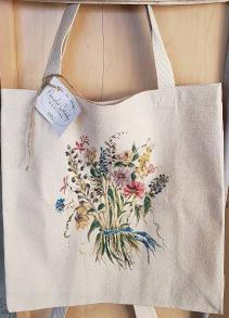 Floral Tote Bag Gift Item