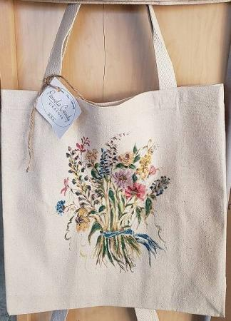 Floral Tote Bag Gift Item
