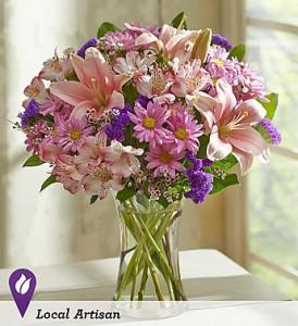 Floral Treasures Vase Arrangement