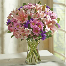 Floral Treasures Vase Arrangment