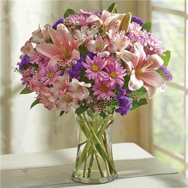 Floral Treasures Vase Arrangment