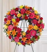 Floral Wreath Mixed