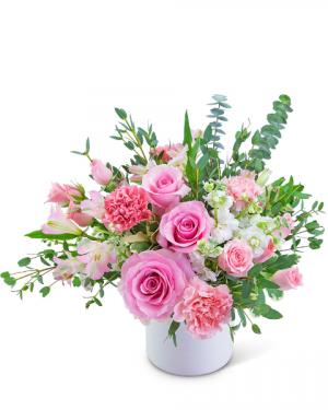 Florence Love Flower Arrangement in Nevada, IA | Flower Bed