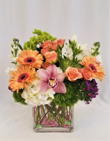 Florida Peach Arrangement