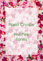 Florist Choice Hot Pink
