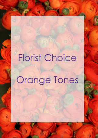 Florist Choice Orange