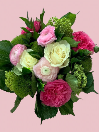 Florist's Choice—Pinks, Whites, & Greens