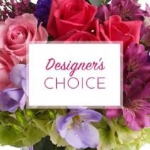 Flower Arrangement in Vase 55$ and more  Designer's Choice