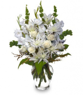 Sympathy Flowers PEACEFUL COMFORT Delivery Fort Worth