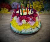Flower Birthday Cake Happy Birthday Flower Cake