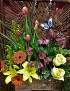 Flower Box Bouquet