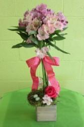 Flower Box Bouquet Fresh Arrangement