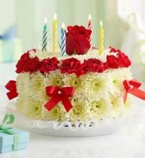 Flower Cake Bright 1990