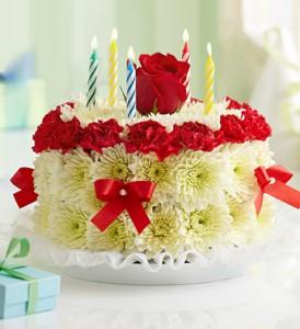1990 Flower Cake Bright