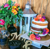 Flower Cake Topper In House Special