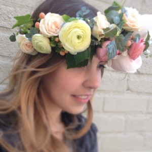 Flower Crown {pastel blooms} in Toronto, ON | BOTANY FLORAL STUDIO
