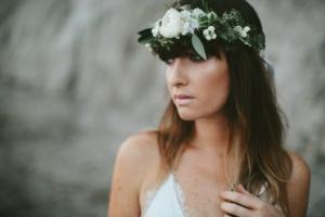 Flower Crown {white blooms} in Toronto, ON | BOTANY FLORAL STUDIO
