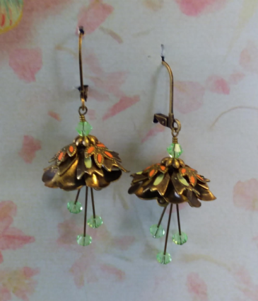 Flower Fairy Earrings 2 Jewelry