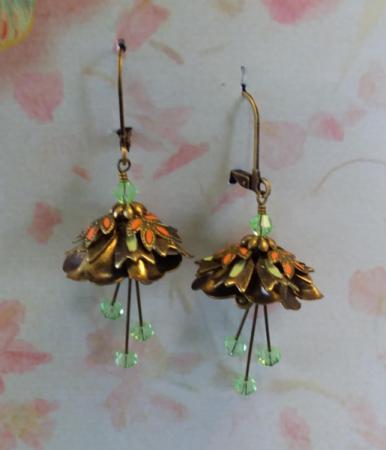 Flower Fairy Earrings 2 Jewelry