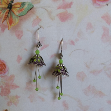 Flower Fairy Earrings 3 Jewelry